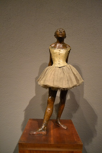 degas little dancer